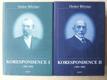 Korespondence I ( 1884- 1908) a II ( 1909 - 1929)