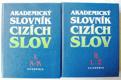 Akademický slovník cizích slov I a II